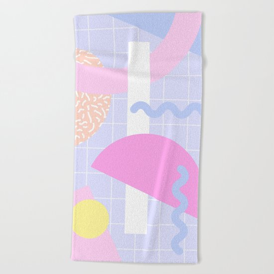 Place no. 2 Beach Towel