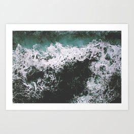 Rough Waters Art Print