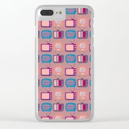 Television Sets Clear iPhone Case