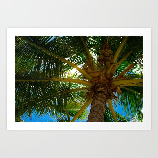 Tropical Shade Art Print