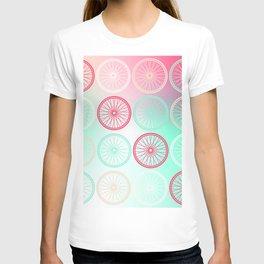 wheels of harmony T-shirt