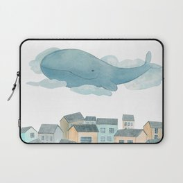 A whale in the sky Laptop Sleeve