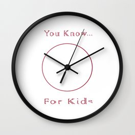 Circle Reinvention Wall Clock