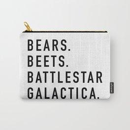 Bears Beets Battlestar Carry-All Pouch