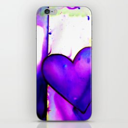 Heart Dreams 1I by Kathy Morton Stanion iPhone Skin