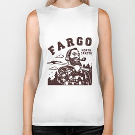 Fargo North Dakota Lumberjack Paul  beard Biker Tank