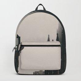 The Dark Vintage Buildings (Color) Backpack