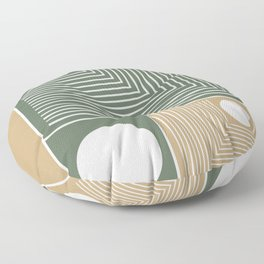 Stylish Geometric Abstract Floor Pillow
