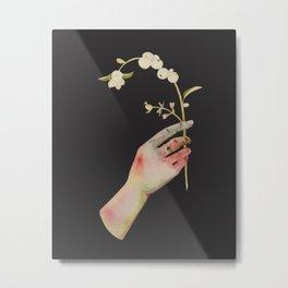 Snowberry Metal Print