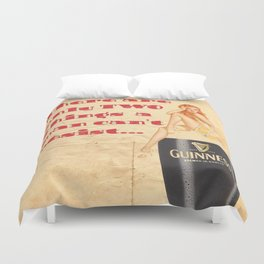 Guinness - Vintage Beer Duvet Cover