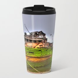 Mary D. Humes at the port of Gold Beach Travel Mug