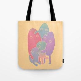 Lump Family Tote Bag