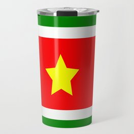 Flag of Suriname Travel Mug
