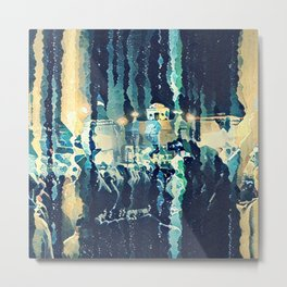 Abstract art-Landscape Metal Print
