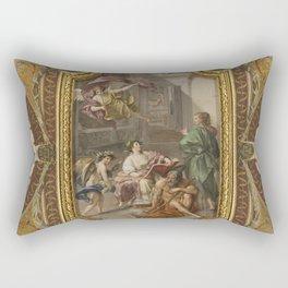 Vatican IV, Rome Rectangular Pillow