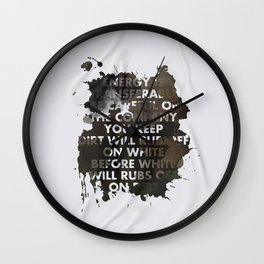 Energy Is Transferable Wall Clock