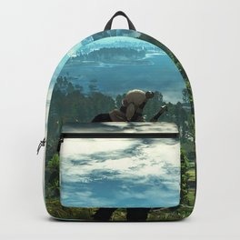 The witch landscape Backpack