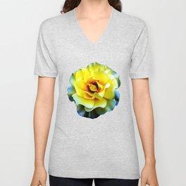 Blossom... (Yellow) Unisex V-Neck