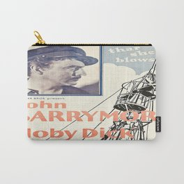 Vintage poster - Moby Dick Carry-All Pouch