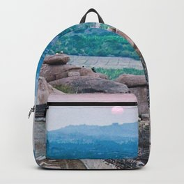 Sunset in the Lost World Backpack