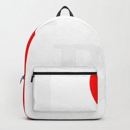 I love BJ - The cult shirt white2 Backpack