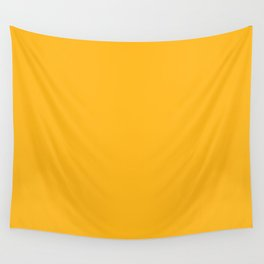 Pittsburgh Football Team Yellow Gold Solid Mix and Match Colors Wall Tapestry