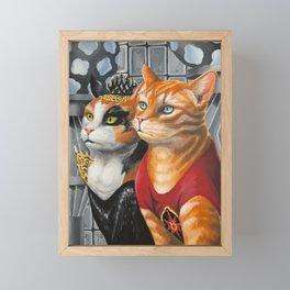 Cat Gordon and Dale Purrden Framed Mini Art Print