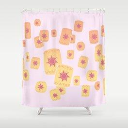 Lost Princess Lanterns Shower Curtain