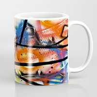 los angeles Mugs featuring Los Angeles by Slade Anderson