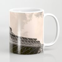 eiffel tower Mugs featuring Eiffel Tower by ib photography