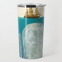 The Whale - colour option Travel Mug