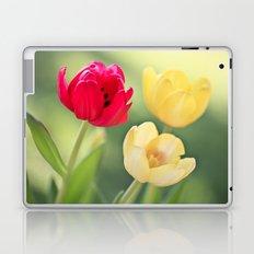 Red & Yellow Tulips Laptop & iPad Skin