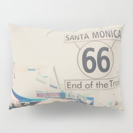 the end of route 66 ... Pillow Sham