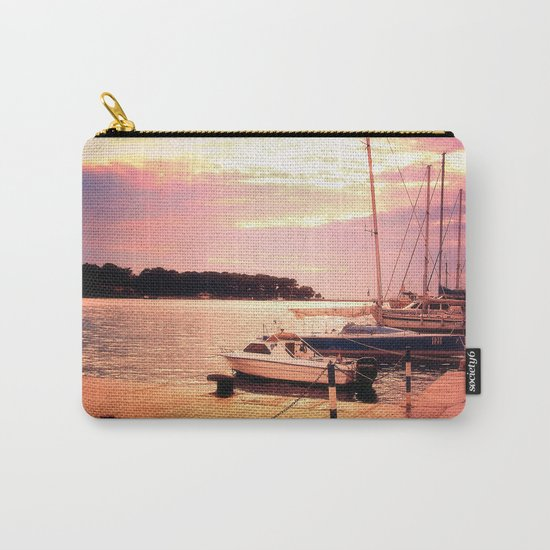 Evening at Port Carry-All Pouch