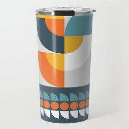 Geometric Plant 01 Travel Mug