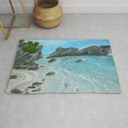 Seascape- 'Hidden Cove' Rug