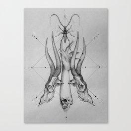 Pointillism Canvas Print