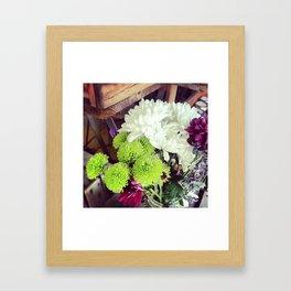 Bouquet Beauty Framed Art Print