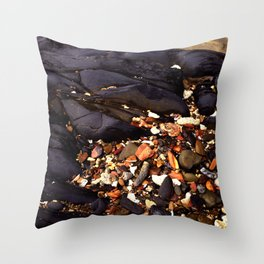 Daintree Rocks Throw Pillow