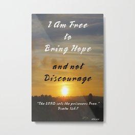 Bring Hope Metal Print