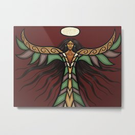 Thunderbird Woman Metal Print