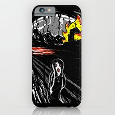 black scream Slim Case iPhone 6s