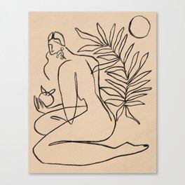 Summer lines V||| Canvas Print