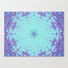 Plasma Flower Canvas Print