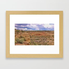 Rugged Colorado Framed Art Print