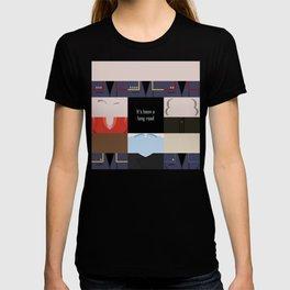 It's been a long road - square - Star Trek: Enterprise ENT - startrek Trektangle minimalist  T-shirt