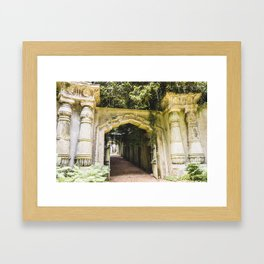 Highgate Cemetery, London - West Cemetery Framed Art Print