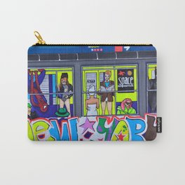Super Hero Subway Carry-All Pouch