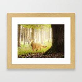 Catstag Framed Art Print