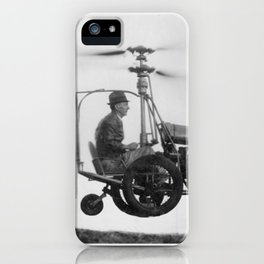 Gyrocopter iPhone Case